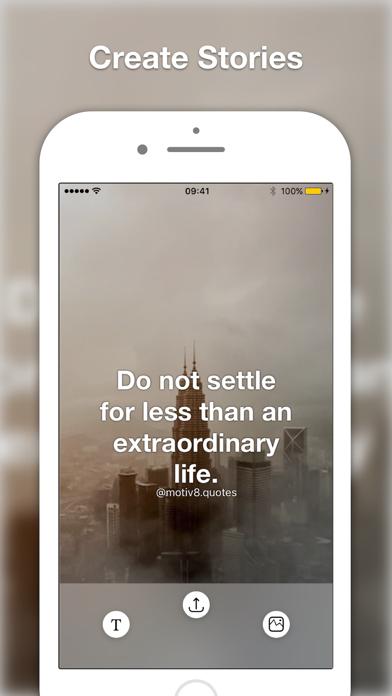 Motiv8 Insta Quote Creator Add Text on Your Imagesのおすすめ画像4