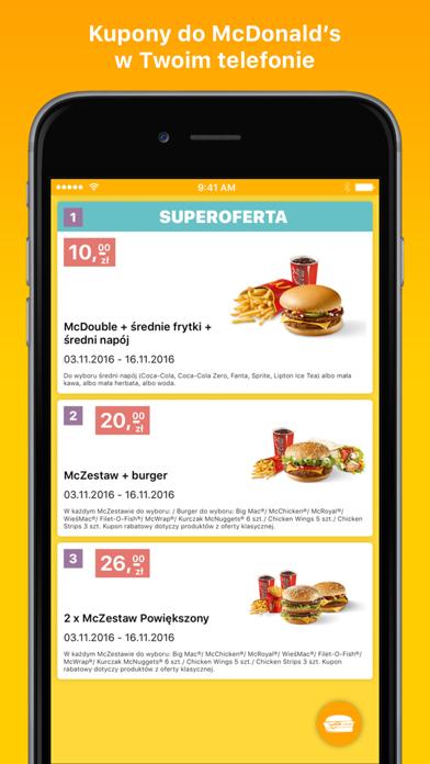 Kupony do McDonald's Lite screenshot one