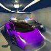 警车逃脱3D:夜间模式赛车追逐游戏