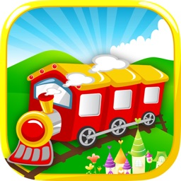A Baby Train - Fun Role Playing Games For Toddlers