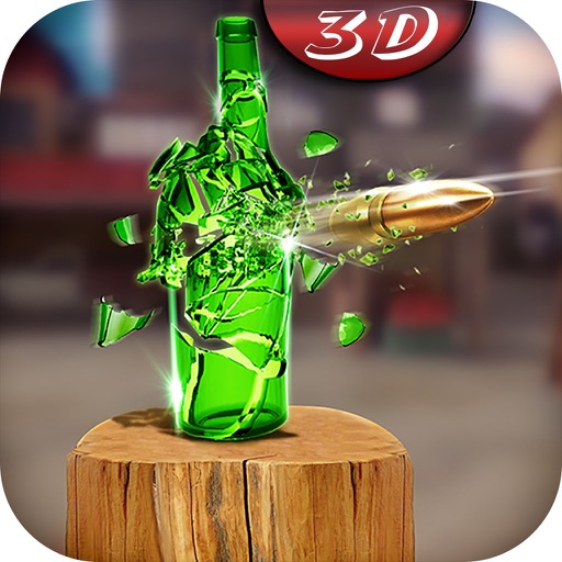 Pistol Bottle Shooter : Free Shooting Game icon