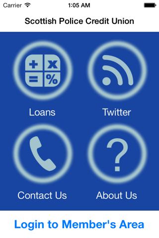 SPCU Mobile screenshot 1