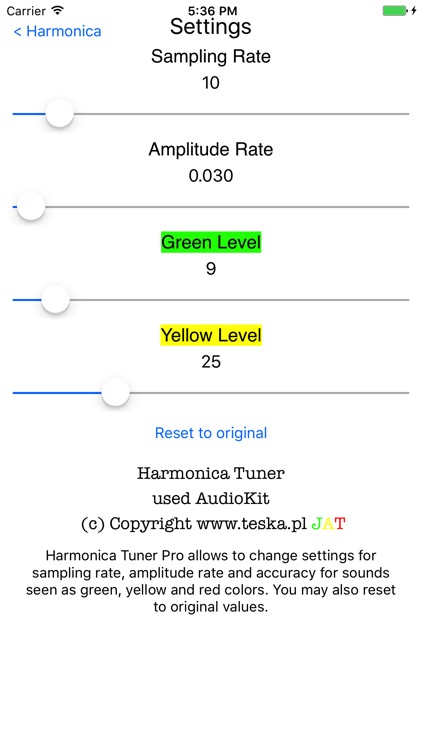Harmonica Tuner screenshot-1