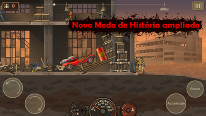 Screenshot for Earn to Die 2 in Portugal App Store