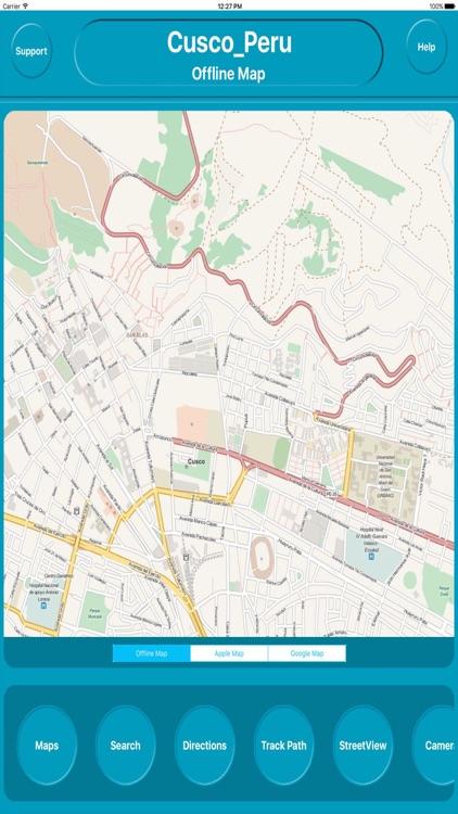 Cusco Peru Offline City Maps Navigation