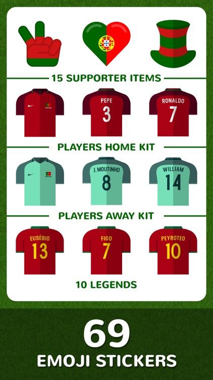 Football Emojis — Team Portugal
