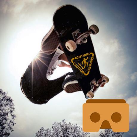 VR Skateboard