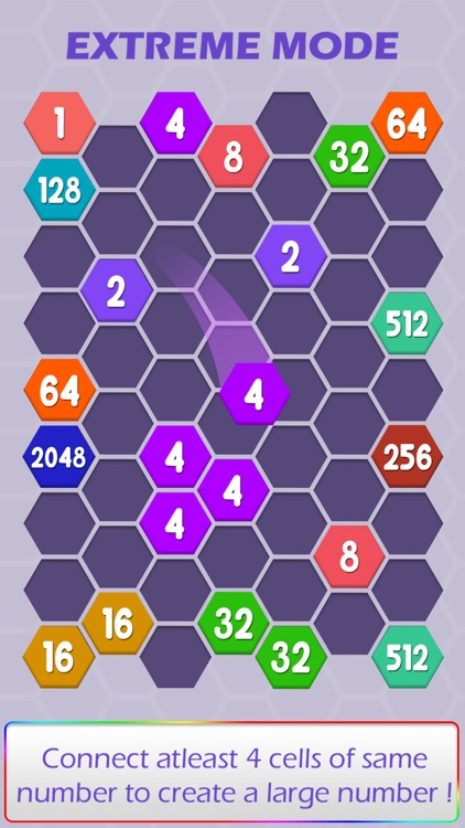 Connect Hexa Puzzle - Matching Numbers screenshot-3