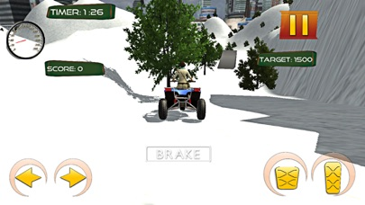 Snow Stunt Quad Bike RAcing Screenshot on iOS