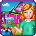 Kids House Cleaning Games icon