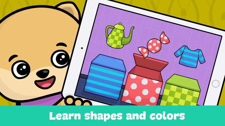 Shapes & colors toddlers games - kids puzzles free screenshot-3