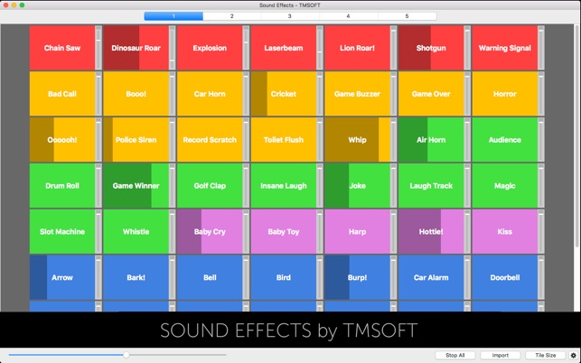 Sound Effects on the Mac App Store