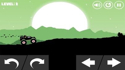 怪物卡车-越野车山地爬坡运货游戏 App 截图