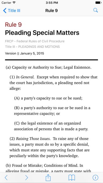 Federal Rules of Civil Procedure (LawStack's FRCP)のおすすめ画像2