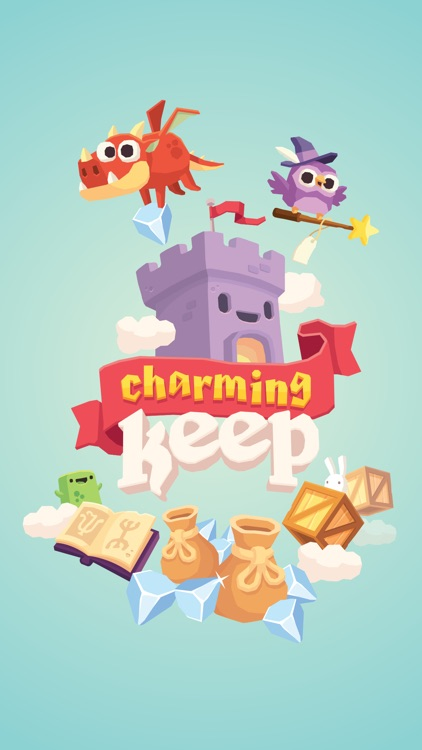 Charming Keep - Collectable Tower Tapper screenshot-0