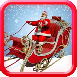 Santa Christmas Gift Delivery 3D