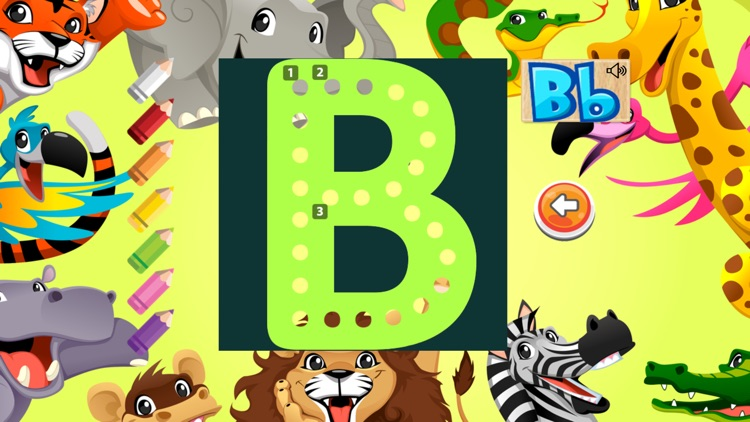 Learning A-Z Alphabet Flashcards Phonic for Kids screenshot-3