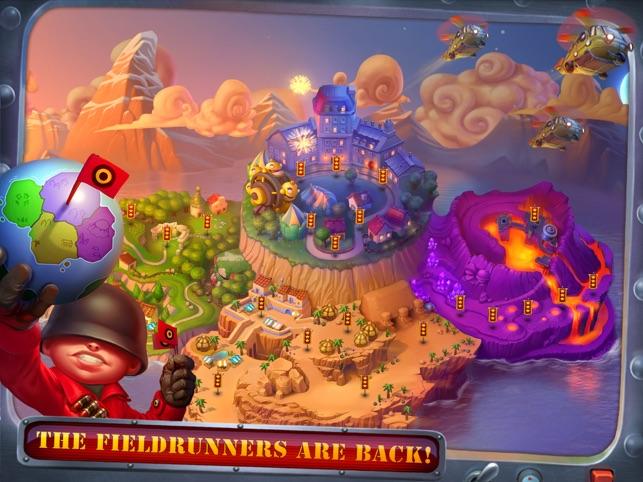Fieldrunners 2 for iPad Screenshot