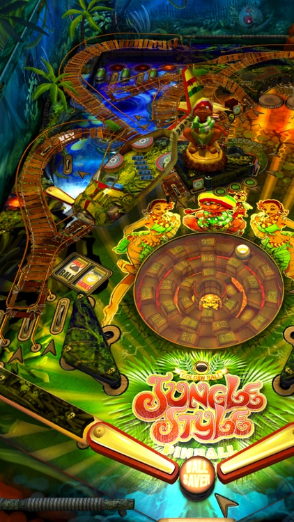 Jungle Style Pinball screenshot-3