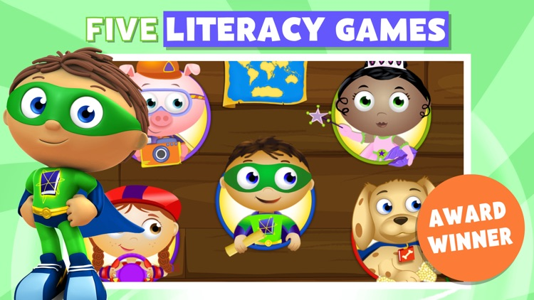 Super Why! ABC Adventures screenshot-0