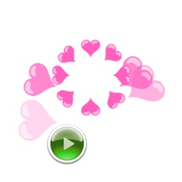 Animated Heart Stickers - Gift For Your Love