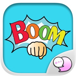 BOOM Stickers Emoji Keyboard By ChatStick