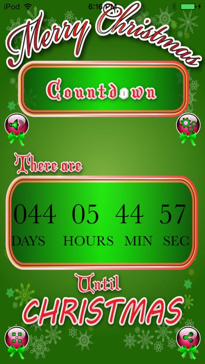 Christmas Countdown Pro - Count The Days To Xmas! screenshot-4