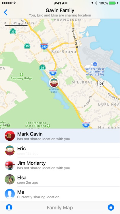 Kin - Family and Friends Map Locator App