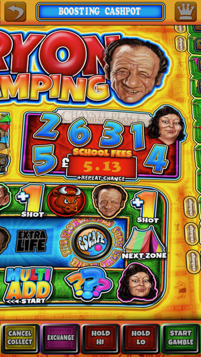 Carry On Camping - The Real Pub Fruit Machine screenshot three