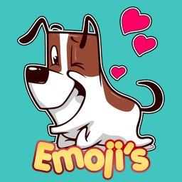 Puppy Moji - Cool Dog Emoji Stickers