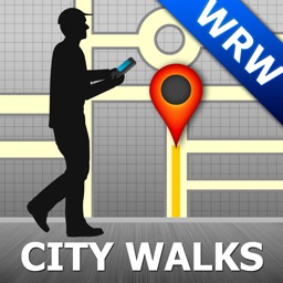 Warsaw Map and Walks, Full Version