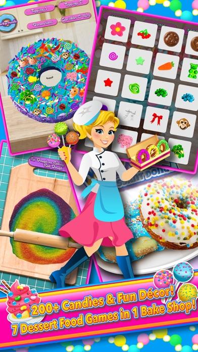 Candy Dessert Bakery Shop Make & Cook screenshot three