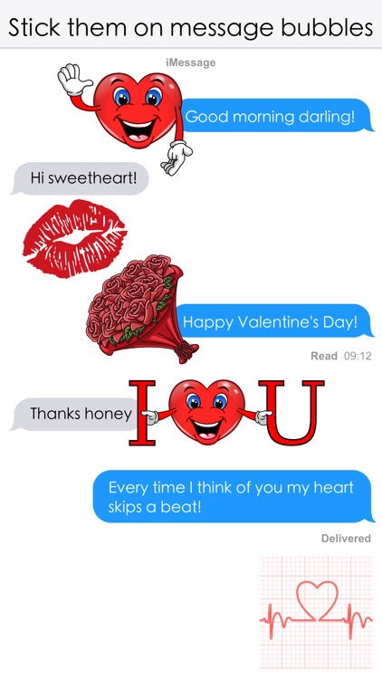 Valentine's Love Stickers screenshot-4