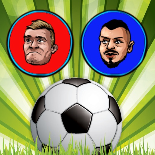 Touch Soccer Futsal Shoot - Two Player Football application logo