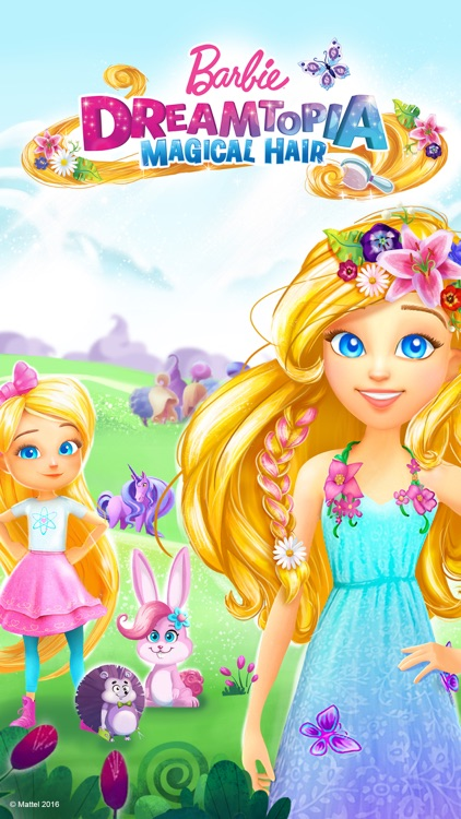 Barbie Dreamtopia - Magical Hair screenshot-4