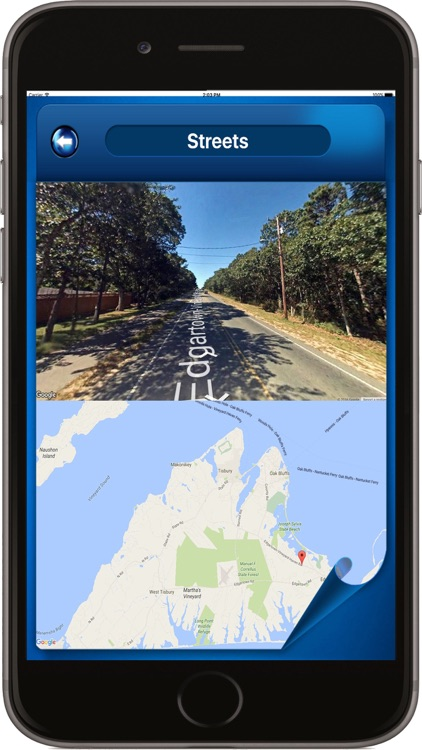 Martha's Vineyard MA - Offline Maps Navigator screenshot-1
