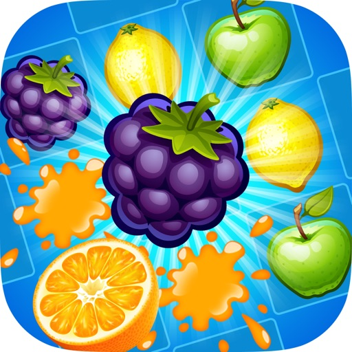 Juice Taste Fever - Garden Drop Puzzle