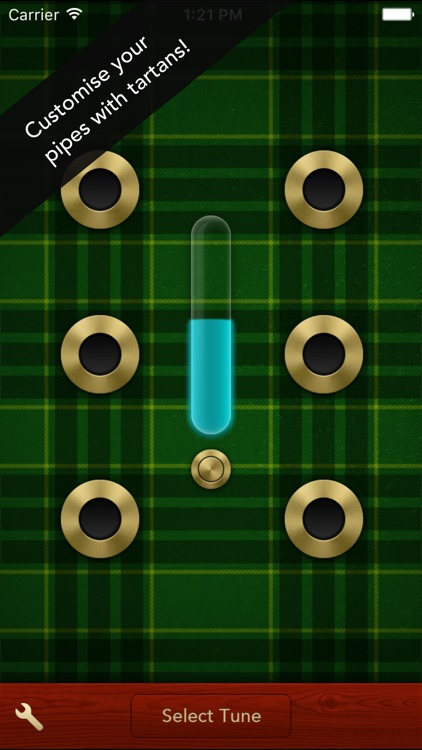 Air Pipes - Bagpipes for iPhone screenshot-1