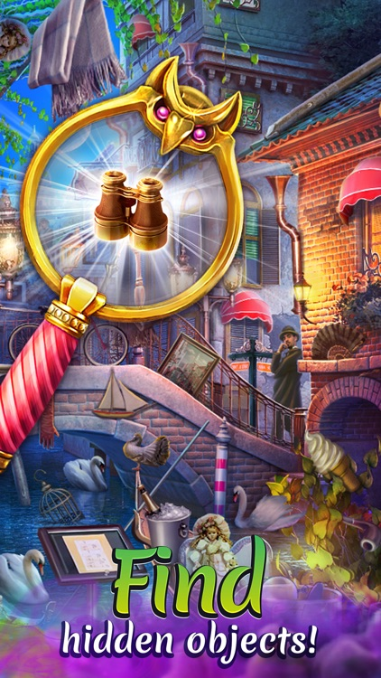 Alice in the Mirrors of Albion: Hidden object game