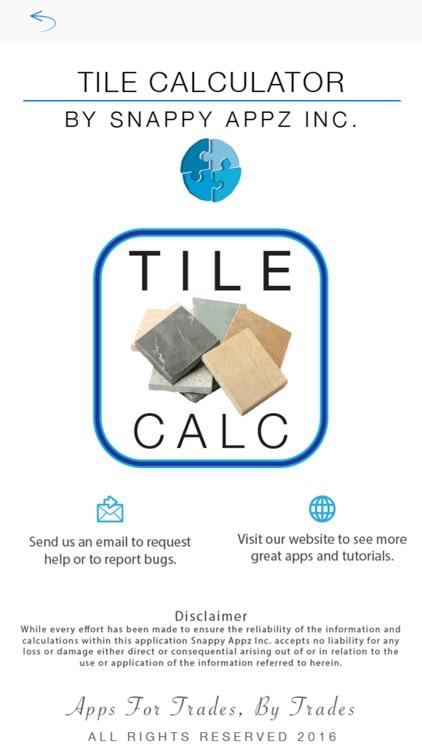 Tile Calculator Pro screenshot-4