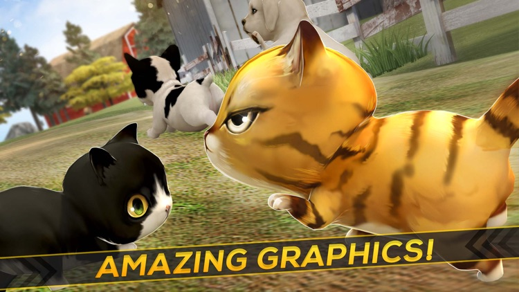 Puppy Land . Cats vs Baby Dogs Simulator
