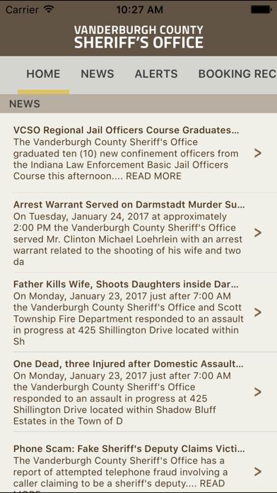 Vanderburgh County Sheriff