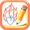 How to Draw for Dragon Ball Z Drawing and Coloring