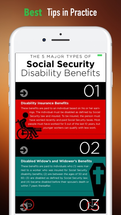 Social Security Disability Guide-SSI Disability screenshot-3