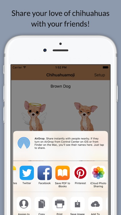 Chihuahuamoji - Chihuahua Emoji & Stickers screenshot-2