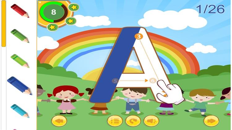 ABC English Tracing Alphabet For Kids