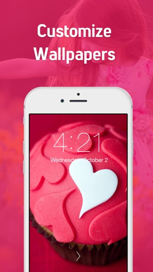 Girly wallpapers hd cute backgrounds for girls on the app store voltagebd Image collections