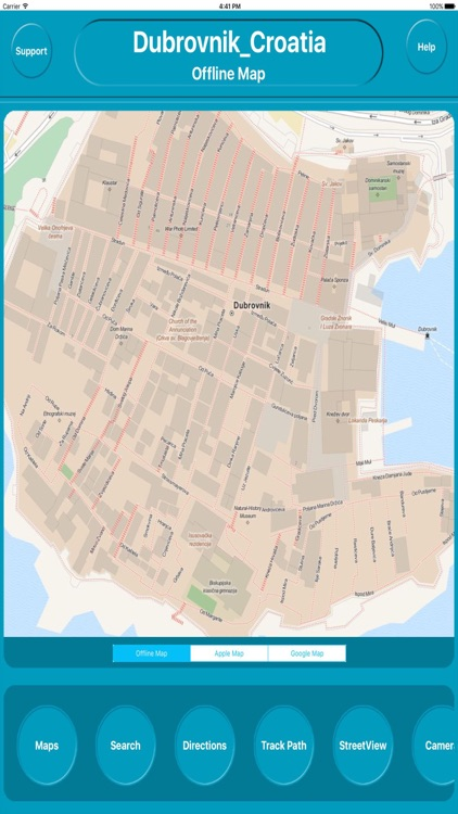 Dubrovnik Croatia Offline City Maps Navigation
