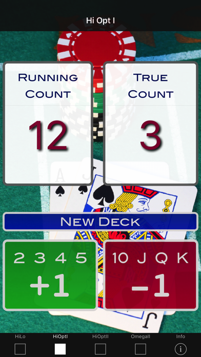 A Blackjack Card Counter - Professional screenshot two