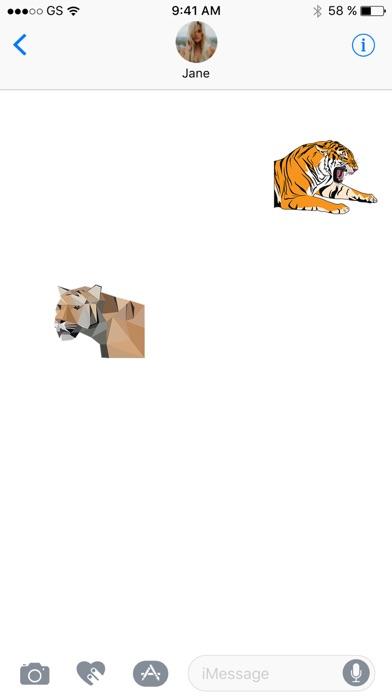 Tiger Zwei Sticker PackScreenshot von 2
